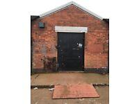 Lock up unit Storage / Workshop / Secure 3 phase Workshop