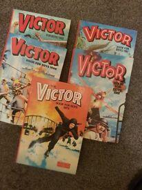 3 x Tiger Annuals & 5 x Victor Annuals