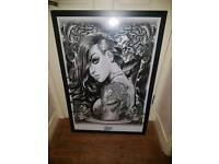 Tattoo Cartoon pictures in black frames