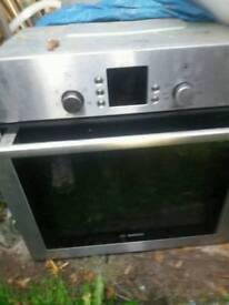 Bosch built in oven