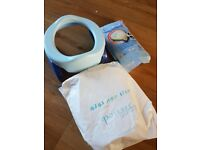 Potette plus travel potty with liner bags