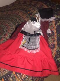 Welsh costume girl 5-7 years dress