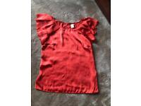 Ladies Size small Top From vila