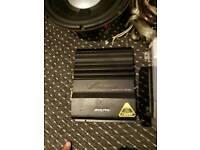 Alpine v power amp