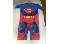 New Next Superman Swimsuit 5-6 years