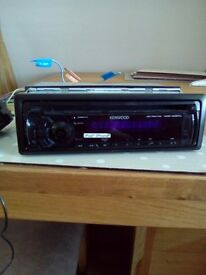 For sale Kenwood radio/cd player