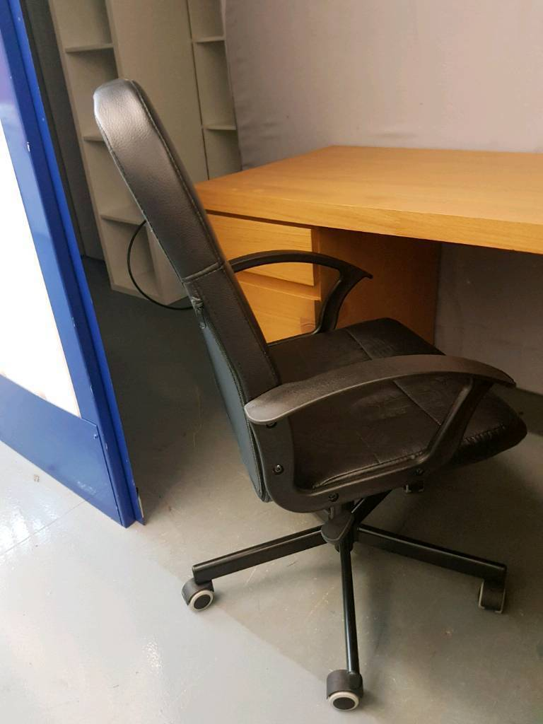 Ikea desk, with or without chair