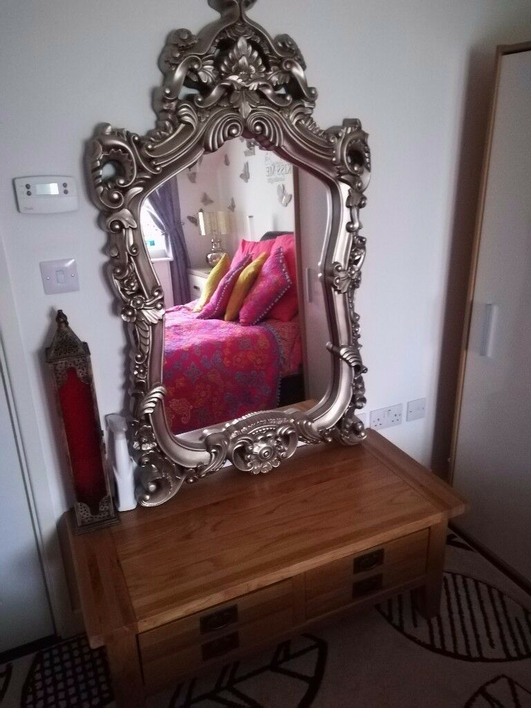 Large ornate mirror SOLD