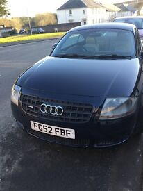 AUDI TT 52 PLATE 123000 MILES GREAT CONDITION