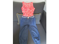 GIRLS JUMPSUIT - AGE 7 YEARS - FROM TU - VGC