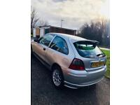 2003 ROVER 25 WITH 1.4 ENGENE SIZE, APRIL 2018 MOT, ONLY 84K MILES
