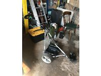 StowAmatic Electric Golf Trolley