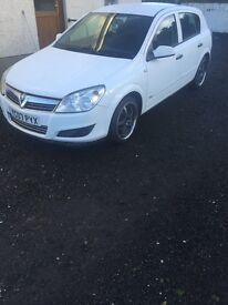 Vauxhall astra 2007 diesel 1.2 good condition