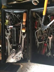 job lot of spanners and sockets all clean items
