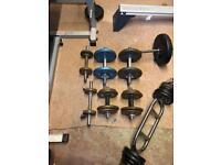 Weights & Weight bench