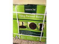 Parasol base 16kg