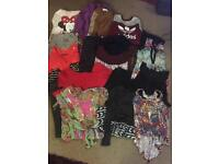 Job lot of clothes and shoes