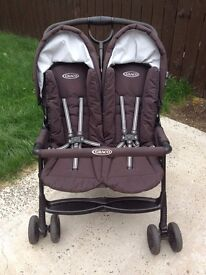 Graco DuoSport double pushchair - immaculate condition £50 ono