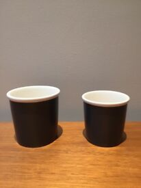 Barista & Co Cappuccino and Espresso cups (6 each) (suitable for Nespresso)