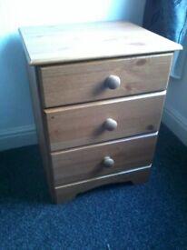 Bedside Drawers/Cabinet