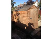 6 x4 shed