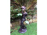 Large, new Bronze sculpture of a Pixie/Elf/Goblin