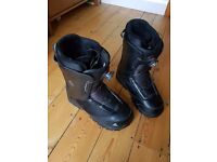K2 snowboard boots with boa dial lacings
