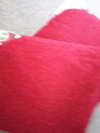 Cushions New with tag's Red colour 50x50cm