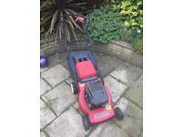 Mountfield Petrol lawnmower self propelled