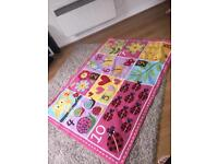 120x90 learning/counting rug from Costco