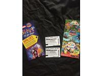 ALTON TOWERS TICKETS 2 for July the 22nd