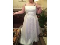 Wedding dress size 18 new with tags collection only N7 Holloway area. Paid nearly £700 want £500.00