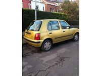Low mileage, full service history, one years MOT. Price reduced.