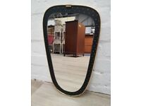 Retro Wall Mirror (DELIVERY AVAILABLE)