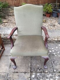 Large High Backed Chair traditional style