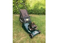 Hayter Hawk 41 roller Push Lawnmower (serviced)