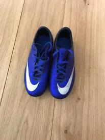 Nike cr7 football boots size 3