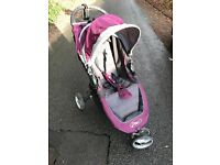 City Mini Baby Jogger Buggy with raincover