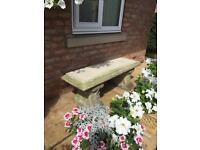 Beautiful old garden bench