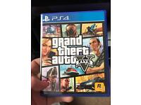 White slim line PS4 with GTA 5 £160