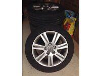 Audi A4 estate 17 inch wheels/Alloys