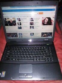 ACER EXTENSA LAPTOP PC COMPUTER WINDOWS 7, WIFI, 15.4' 1.86GHZ CPU, 1.50GB RAM, DVD WRITER