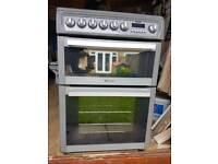 Hotpoint EW74G Fan and Grill Double Oven Cooker