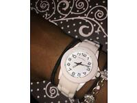 White 'Colours' Watch
