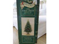 Reduced price! Debenhams 1.8m Christmas tree