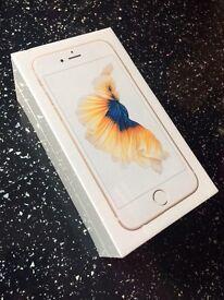 Iphone 6s 32gb gold brand new sealed unlocked