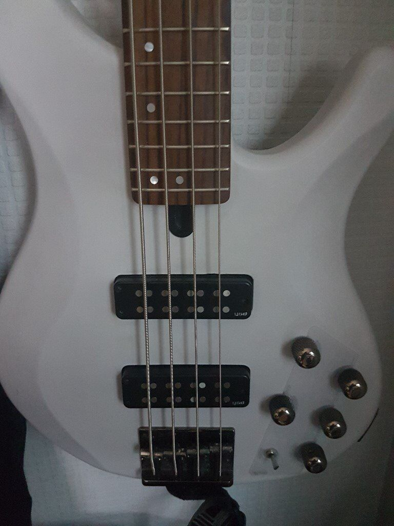 Bass Guitar Yamaha TRBX 504. 4 string active & passive. Bought from Academy of Sound in 2015.