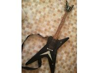 electric guitar Washburn Dime