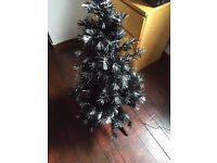 Black Fiber Optic Tree
