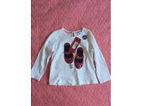 Marks and Spencer's girls top bNWT 1.5-2yrs